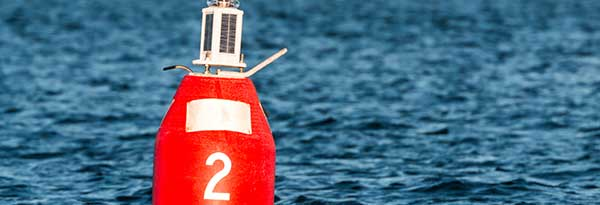 Missing markers, buoys or cans
