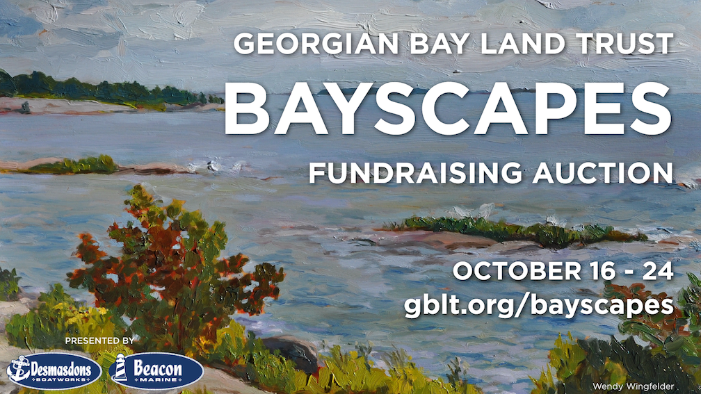 Georgian Bay Land Trust's Bayscapes Auction is Now Live!